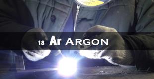 18 氩 Argon ー占空气量的1%,也用于医疗激光
