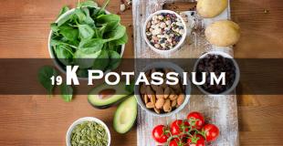 19 钾 Potassiumー细胞内大量存在的元素