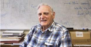 世界著名化学家 John B. Goodenough
