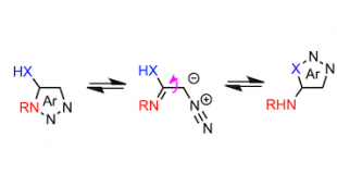 Dimroth Rearrangement via A Conjugated 1,3-Dipole