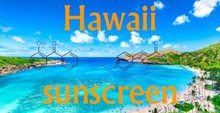 夏威夷州对防晒霜成分的统制