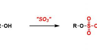硫酸酯的合成 Synthesis of Organosulfate
