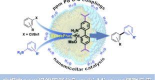 水相中ppm级的钯催化Suzuki-Miyaura偶联反应