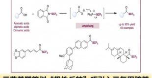 """三苯基膦策划""""极性反转"""",巧引入三氟甲硫基"""