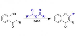阿兰-罗宾逊反应(Allan-Robinson Flavone Synthesis)