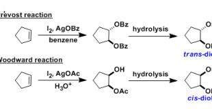 Prevost/Woodward二羟基化反应(Prevost/Woodward Dihydroxylation)